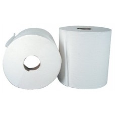 Center-Pull Hand Towels, White, 2-Ply, 600/Roll, 6 Roll/Carton