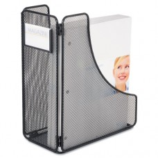 Mesh Magazine File, Black, 5 1/4 X 10 X 12 1/4
