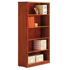 Alera Verona Veneer Series Bookcase, Five-Shelf, 35-1/2w X 14d X 66h, Cherry