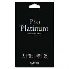 Photo Paper Pro Platinum, High Gloss, 4 X 6, 80 Lb., White, 50 Sheets/pack