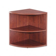 Valencia Lower End Cap Bookcase, 23-5/8w X 23-5/8d X 29-1/2h, Medium Cherry