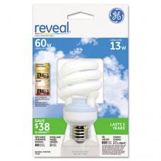 Energy Smart Compact Fluorescent Spiral Light Bulb, Spiral, 13 Watts