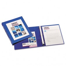"Framed View Heavy-Duty Binder W/locking 1-Touch Ezd Rings, 1"" Cap, Pacific Blue"