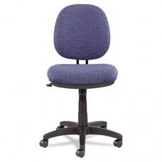 Alera Interval Swivel/tilt Task Chair, Tone-On-Tone Fabric, Marine Blue