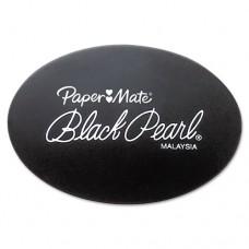 Black Pearl Eraser, 2/pack
