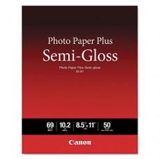 Photo Paper Plus Semi-Gloss, 69 Lbs., 8-1/2 X 11, 50 Sheets/pack