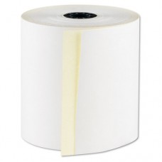 "Registrolls Two-Part Carbonless Pos Rolls, 3"" X 100', White, 30/carton"