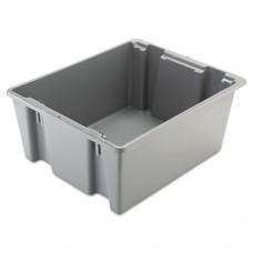 Palletote Box, 19gal, Gray