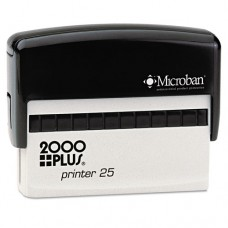 Self-Inking Custom Message Stamp, 3 X 5/8