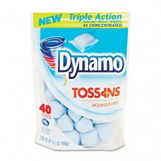 Toss Ins Powder Laundry Detergent, Packets, 40/pack 4/carton