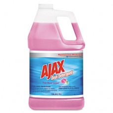 Dish Detergent, Pink Rose, 1gal Bottle, 4/carton