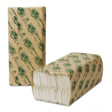 Ecosoft C-Fold Towels, White, 200 Towels/pack, 12 Packs/carton
