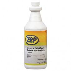 Toilet Bowl Cleaner, Non-Acid, Qt, Bottle