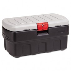 Actionpacker Storage Container/cargo Box, 35gal, 16-3/8 X 18-1/2, Black
