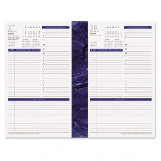 Monticello Dated One-Page-Per-Day Planner Refill, 5 1/2 X 8 1/2, 2016