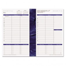 Monticello Dated Weekly/monthly Planner Refill, 5 1/2 X 8 1/2, 2016