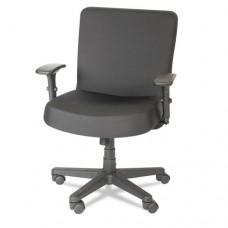 Xl Series Big & Tall Mid-Back Task Chair, Black