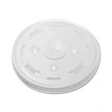 Conex C-Cup Lids, 16-24oz Cups, Translucent, 50/sleeve, 20 Sleeves/carton