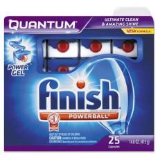 Quantum Dishwasher Tabs, Blue, 25 Count, 6 Boxes/carton