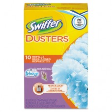 Refill Dusters, Dust Lock Fiber, Yellow, 10/box, 6 Boxes/carton