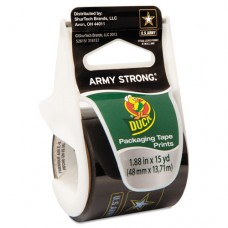 "U.s. Army Packaging Tape, 1.88"" X 15 Yds, 1 1/2"" Core, Black/gold"