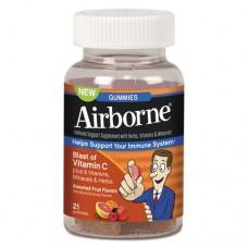 Immune Support Gummies, Assorted Flavors, 21/bottle, 12 Bottles/carton