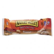 Nature Valley Granola Bars, Sweet & Salty Nut Peanut Cereal, 1.2oz Bar, 16/box