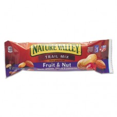Nature Valley Granola Bars, Chewy Trail Mix Cereal, 1.2oz Bar, 16/box