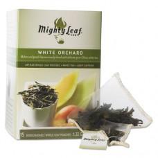 Whole Leaf Tea Pouches, White Orchard, 15/box