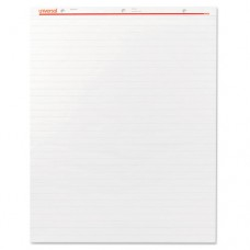 Recycled Easel Pads, Faint Rule, 27 X 34, White, 50 Sheet 2/carton