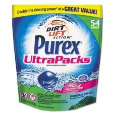 Ultrapacks Liquid Laundry Detergent, Mountain Breeze, 54/pack