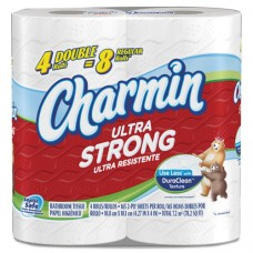 Ultra Strong Bathroom Tissue, 2-Ply, White, 165 Sheets/roll, 4 Rl/pk, 10 Pk/ct