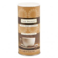 Cafe Delight Creamer, 12 Oz Canister, 12/carton