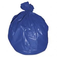 High-Density Healthcare Bags, .551mil, 38d X 38w, 46h, Blue, 250/ct