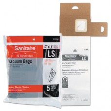 Vacuum Bags, Disposable, For Sanitaire Commercial Upright Vacuums, 3/pk, 6pk/ct