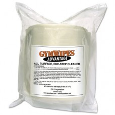 Gym Wipes Advantage, 7 X 8, White, Unscented, 900/roll, 4roll/carton
