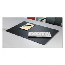 Rhinolin Ii Desk Pad With Microban, 17 X 12, Black