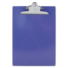 "Recycled Plastic Clipboards, 1"" Clip Cap, 8 1/2 X 12 Sheets, Purple"