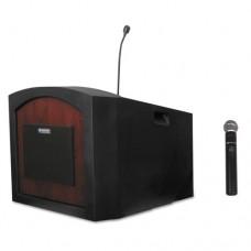 Pinnacle Tabletop Lectern, 26w X 23d X 20h, Mahogany