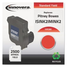 Remanufactured Imink2 (im-280) Postage Meter Ink, Red
