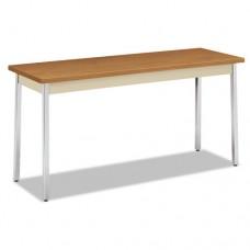 Utility Table, Rectangular, 60w X 20d X 29h, Harvest/putty