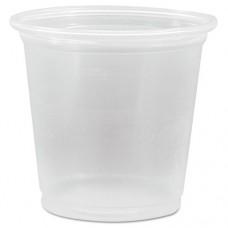 Conex Complements Translucent Portion Cups, 1 1/4 Oz., 125/bag
