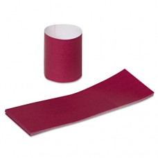 "Napkin Bands, Paper, Burgundy, 1 1/2"", 4000/carton"