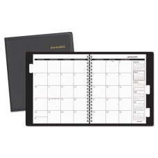 Refillable Multi-Year Monthly Planner, 9 X 11, White, 2017-2019