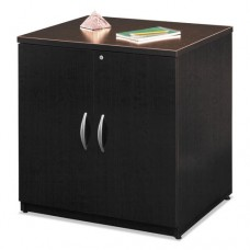 "30""w Storage Cabinet Series C, Mocha Cherry/graphite Gray"