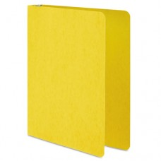 "Presstex Round Ring Binder, 1"" Cap, Yellow"