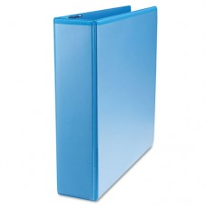 "Slant-Ring Economy View Binder, 2"" Capacity, Light Blue"