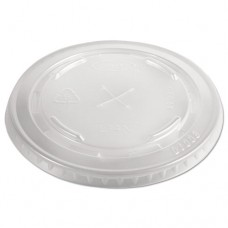 Conex C-Cup Lids, 12-14oz Cups, Translucent, 50/sleeve, 20 Sleeves/carton