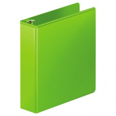 """Heavy-Duty D-Ring View Binder W/extra-Durable Hinge, 2"""" Cap, Chartreuse"""