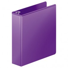 """Heavy-Duty D-Ring View Binder W/extra-Durable Hinge, 2"""" Cap, Purple"""